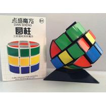 Cubo Rubik 3x3 Diansheng Yuan Zhu Cilíndrico Barril