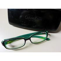 Armação Óculos Calvin Klein Acetato Original