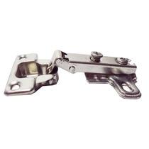 Dobradiça Para Porta De Armário Reta Pequena 26mm De Pressao