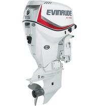 Motor Fuera De Borda Evinrude Etec 115 Hp Dsl Hasta 5 Año Gt