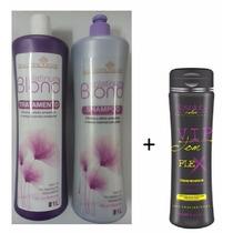 Progressiva Platinum Blond - Magnific Hair + Vip Tom Plex
