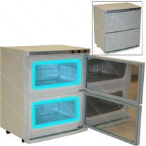 Esterilizador/calentador/toallas/2 Puertas Spa