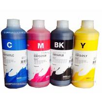 Kit 4 Tintas Epson Durabrite Inktec Pigmentada 500 Ml. C/u