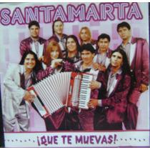 Cumbia De Los 90-santamarta-cd Original-que Te Muevas