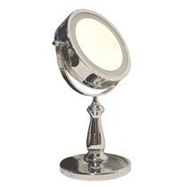 Espelho Iluminado Bancada Banheiro Maquiagem Jm 905 Duplo 5x
