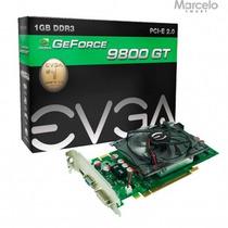 Placa Vga Nvidia Geforce 9800gt 1gb Evga Gddr3 256 Bits + Nf