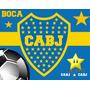Kit Imprimible Boca Juniors Diseñá Tarjetas, Cumples Y Mas