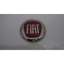 Emblema Capo Fiat Vermelho C/ Parafuso P/ Palio 96/02 - Bre