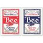 2 Baralhos Bee Club Special - Vermelho E Azul - Poker Size