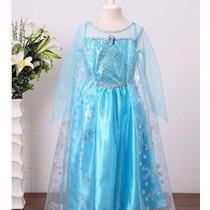 Fantasia Elsa E Luva Frozen,lindo, Varios Modelos E Tamanhos