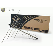 Antena Digital Externa Uhf/vhf Hd 24 Elementos Rt2402