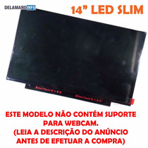 Tela Led Slim Ultrabook Notebook Lp140wh2 Tpt2 (4759)