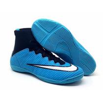 Chuteira Botinha Nike Futsal Mercurial Lançamento Neymar Inf