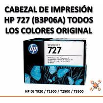 Cabezal De Impresión Hp 727 B3p06a Para Plotter T1500 T2500