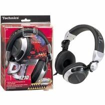 Rp- Dj-1210 Technics - Fone De Ouvido Para Dj # Djfast #