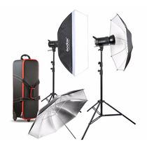 Kit Godox Sk400 E Estudio Fotografico