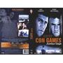 Dvd Con Games - Justiça Cega, Eric Roberts, Ação, Original