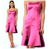 Davids Bridal Vestido De Cocktail Talla 32 Color Rosa
