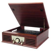Toca Disco Ctx Soprano Lp/sd/fm/usb/gravação