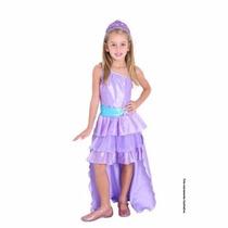 Fantasia Barbie A Princesa E A Pop Star Roxa