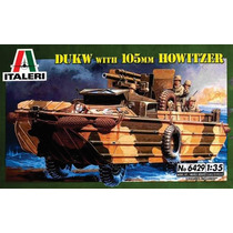 Italeri Vehiculo Anfibio Howitzer 1/35 Armar Pintar / Revell