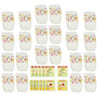 Bebé Vivo Muñeca Alimentos Y Pañales Super Refill Pack - 30