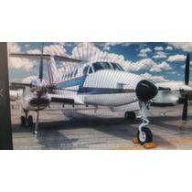 Avion Para Armar King Air Fuerza Aere Mexicana