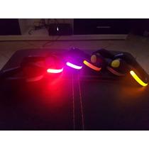 Clip Luz Led Para Zapato Y Tennis, Seguridad En Bicicleta!