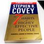 Una Joya!! 7 Hábitos De La Gente... Stephen Covey En Ingles