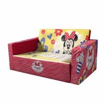 Sillón Sofacma Infantil Disney Minnie Mouse Rojo Niña Msi!!!