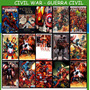 Civil War Saga Completa + Marvel Estudios Comic Digital Esp