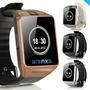 Smart Watch Y Smartphone Táctil Con Cámara Chip Sim Dz09 Mic