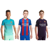 Barcelona 2016/17 Camiseta Niños Original Importada