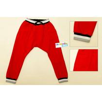 Pantalon De Friza Con Puño Para Niño - Joggins Cagados