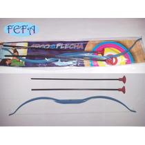 Arco Flecha Arma Pressão 60 Cm Brinquedos Festas