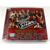 Lo Mejor De La Voz Mexico 2 Cd´s Nuevo Sellado Ed 2011