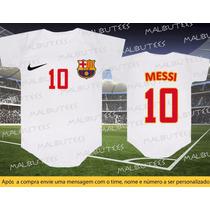 Body Barcelona Time Futebol Neymar Messi Campeonato Espanhol