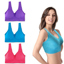 Pack 9 Sosten Magic Air Ahh Bra Talla L / Rebajas