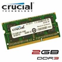 Memoria Ram Crucial Ddr3 2gb