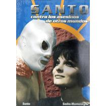 Dvd De El Santo - El Santo Contra Los Asesinos De Otros Mund