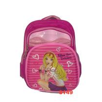 Mochila Escolar Infantil Feminina 3d Alto Relevo 8149