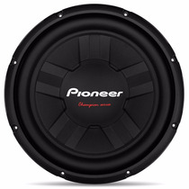 Alto Falante Subwoofer Pioneer 12 400wrms Sub Woofer Ts311