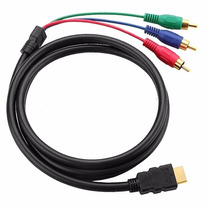 Cable Hdmi A Rca Alta Definición De Sonido Y Video C1084