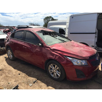 Chevrolet Cruze 2012 Aut Accidentado Solo Por Partes