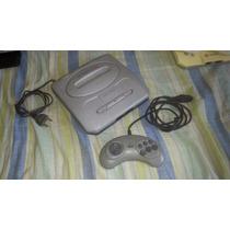 Mega Drive 3 Com 30 Jogos Na Memória Funcionando 100%.