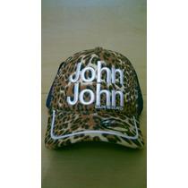 Boné Feminino John John De Onçinha Bordado Regulável