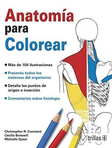 Libro Anatomia Para Colorear Isbn 9786071712417 - $ 2.122,45 en ...