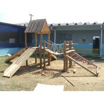 Playground De Eucalipto -casinha Do Tarzã Casinha De Boneca
