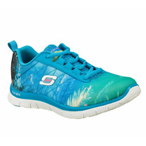 Zapatos Skechers Para Damas Damen Sneaker 12056-turq