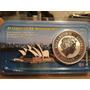 1 Moneda Onza Plata Australia 1 Dolar Kookaburra Año 2001